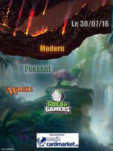 affiche Juillet 2016 Peasant Modern2